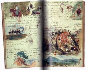 Carnet Delacroix